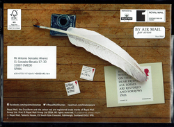 ROYAL MAIL COMMUNICATION STAMPS EMISSION 2016 400TH ANNIVERSARI WILLIAM SHAKESPEARE - Gran Bretaña