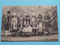 Gebuurte VOORMUIDE Kinderstoet - De Nationale Klederdrachten ( RUSLAND / RUSSIE ) 1912 ( Zie Foto´s Voor Detail ) - Bulgarie