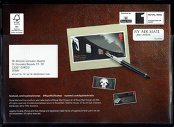 ROYAL MAIL COMMUNICATION STAMPS EMISSION 2016 AGATHA CHRISTIE THE QUEEN OF CRIME - Gran Bretaña