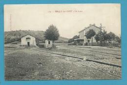 CPA 130 - Chemin De Fer La Gare BILLY-SUR-OISY 58 - France