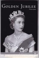 Australia 2002, GOLDEN JUBILEE OF QUEEN ELIZABETH II, SET OF EIGHT POST CARDS