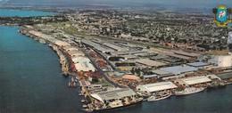 ABIDJAN, Le Port, Vue Aérienne , CPCM Couleurs 21x10 - Ivory Coast