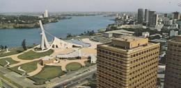 ABIDJAN, Vue Du Sommet Des Tours Administratives, CPCM Couleurs 21x10 - Ivory Coast