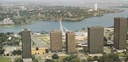 ABIDJAN, Vue Aérienne Du Quartier Administratif, CPCM Couleurs 21x10 - Ivory Coast