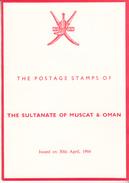 BLOOKLET -  1966    MICHEL  Nº 95 / 106 - Oman