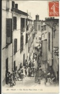 ORAN , Une Rue Du Vieux Oran , 1915 , CPA ANIMEE - Oran