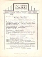 Pub Reclame - Papierhandel Novelty - Gent 1949 - Publicidad