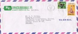 19617. Carta Aerea KINGSTON (Jamaica) 1971 To England - Jamaica (1962-...)