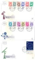 Signes Du Zodiaque - 3 FDC Israël - Série Complète (à Voir) - Astrologie