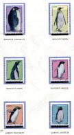 TAAF **   N°  445 à 450   -  Oiseaux - Les Manchots - Blokken & Velletjes
