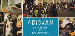 ABIDJAN, Le Marché De Treicheville, CPCM Couleurs 21x10 - Ivory Coast