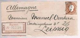 Angola, 1893, Luanda-Leipzig - Angola