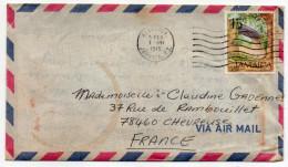 """Jamaique--1975--lettre De KINGSTON Pour Chevreuse (France)-timbre """"pont""""- - Jamaica (1962-...)"""