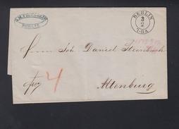 Faltbrief 1849 Berlin Nach Altenburg - Preussen