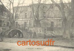 83 BARJOLS L´HOSPICE FONTAINE CHARRETTE BE - Barjols