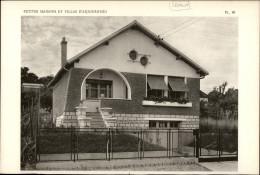 ARCHITECTURE - Planche De La Maison Avec Plan - 92 SCEAUX - Architecture