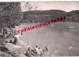 88 - GERARDMER - LE LAC ET LA PLAGE   1955 - Gerardmer