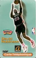 CARTE§-A TELECOM-50F-BASKET NBA-JOUEUR D ROBINSON-GRATTE--TBE-RARE - Prepaid Cards: Other