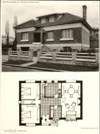 ARCHITECTURE - Planche De Maison Avec Plan - 92 SCEAUX - Architecte - Architecture