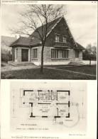 ARCHITECTURE - Planche De Maison Avec Plan - 92 SCEAUX - Architectes: P. DE LA PERSONNE Et R. REUILLON - Architecture
