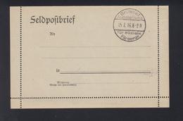 Dt. Reich Besetzung Belgien Sonderstempel Brüssel Ausstellung Für Soziale Fürsorge 1916 - Besetzungen 1914-18