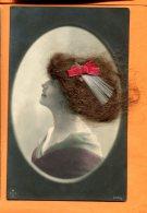 CAL1465, Femme Avec Des Vrais Cheveux, 976/5, W S+S B,  Circulée Sous Enveloppe - Femmes