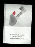 Tovagliolino Da Caffè - Bar Cappuccini - Avellino - Reclameservetten