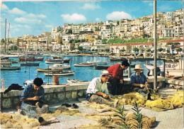 19626. Postal ATENAS (Grecia)  Turcolimano Pescadores - Grecia