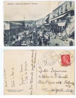 BAGNOLI ( NAPOLI ) STABILIMENTO BALNEARE TRICARICO - EDIZ. A. TRICARICO - 1935 - Napoli (Naples)