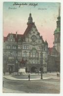 DRESDEN GEORGENTOR DEL 1912  VIAGGIATA FP - Dresden