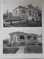 ARCHITECTURE - Planche De Maison - 92 VAUCRESSON - Architecte J. ESCOUGNOU - Villas - Architecture