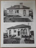 ARCHITECTURE - Planche De Maison Avec Plan - 92 SCEAUX - Architecte LOISEAU - Villas - Architecture