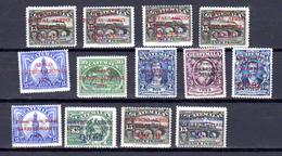 Guatemala  Poste Aérienne, Entre 1 Et 22*, Cote 90 €, - Guatemala
