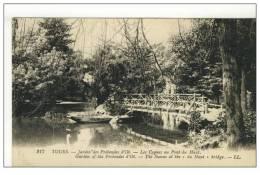 37 TOURS Jardin Des Prebendes D'oë  Les Cygnes Au Pont Du Haut - Tours