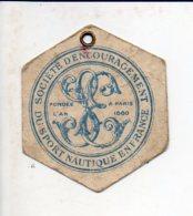 Carte De Membre De La Société D'Encouragement Du Sport Nautique En France / Année 1940 - Autres