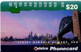 TELECARTE AUSTRALIE SYDNEY - Benin