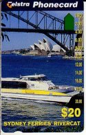 TELECARTE AUSTRALIE SYDNEY FERRIES RIVERCAT