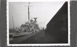 SAINT NAZAIRE(loire Atlantique)- Croiseur Américain Trenton, Photo  Format 11,6 X 8,6cm. - Barche