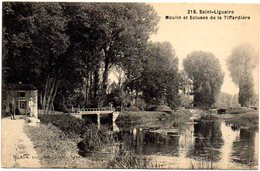 CPA 79 ( Deux Sevre ) - SAINT LIGUAIRE - Moulin Et Ecluses De La Tiffardière - Francia