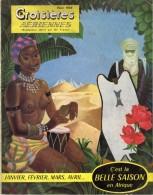 DEPLIANT CROISIERES AERIENNES AIR FRANCE  AFRIQUE HIVER 1953 - Dépliants Touristiques