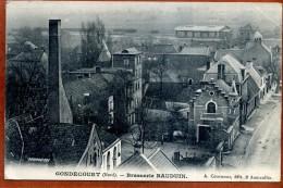 59   CPA De GONDECOURT  Brasserie Bauduin      Joli Plan   Rare       Bon état (léger Pli Dans Un Angle) - Otros Municipios