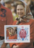 Funafuti-Tuvalu - 21 April 1986 - 60ste Verjaardag Koningin ELISABETH II- MNH - M  Blok 4 - Tuvalu