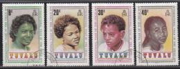 Tuvalu - Internationales Jahr Des Kindes - Used/gebraucht/gebruikt - M 112-115 - Tuvalu