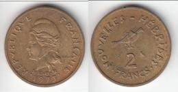 **** NOUVELLES-HEBRIDES - NEW-HEBRIDES - VANUATU - 2 FRANCS 1973 - OISEAU FREGATE **** EN ACHAT IMMEDIAT !!! - Vanuatu