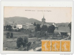 01 BRENOD QUARTIER DE L EGLISE CPA BON ETAT - Altri Comuni