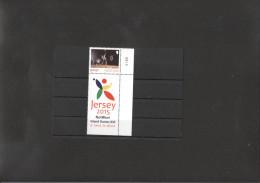 Badminton  Stamp Of Jersey MNH