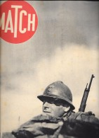 """""""MATCH"""" N°68 Octobre 1939 """"1er Reportage Sur Le Front Français""""-BE - Journaux - Quotidiens"""