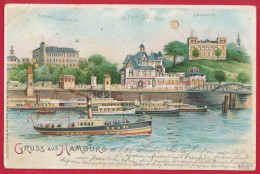 HAMBURG - 'Halt Gegen Licht' ~ 1905 - Mitte