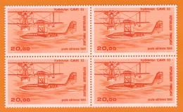 Ph-France-Aériens-Bloc De 4 Timbres Neuf** 1985 N°58