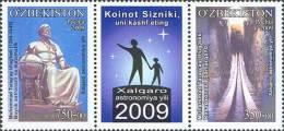 Uzbekistan 2009 Mih. 805/06 Year Of Astronomy MNH ** - Usbekistan